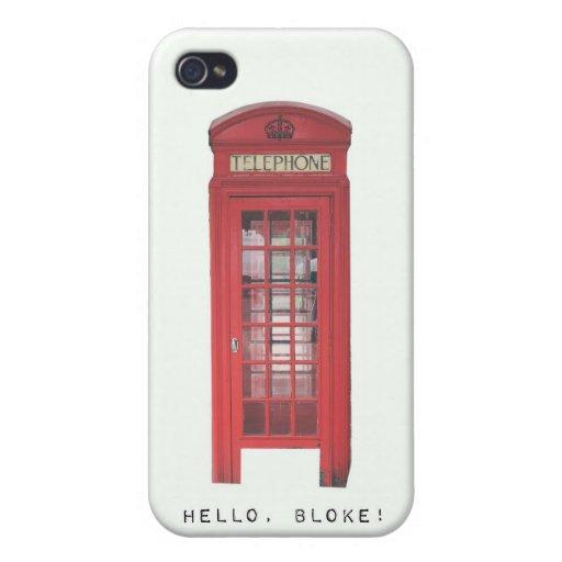 ¡Hola, tío! iPhone 4/4S Carcasas