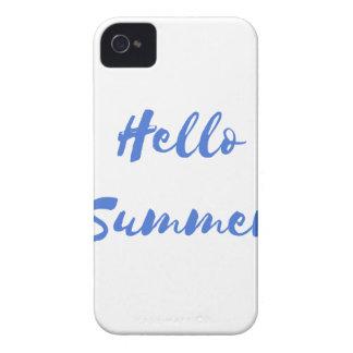 hola verano Case-Mate iPhone 4 cobertura