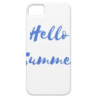 hola verano funda para iPhone 5 barely there
