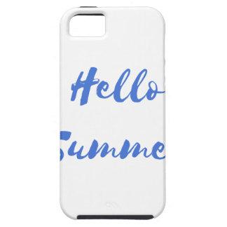 hola verano iPhone 5 fundas