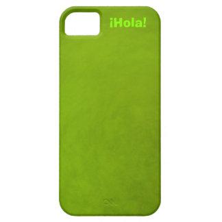 ¡Hola! - Verde iPhone SE/5/5s Case