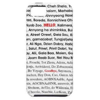 hola y adiós funda para iPhone 5 tough