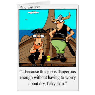 Hola y hola tarjeta de felicitación del humor