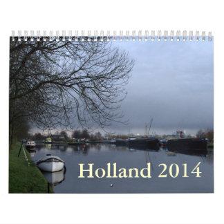 Holanda 2014 calendarios de pared