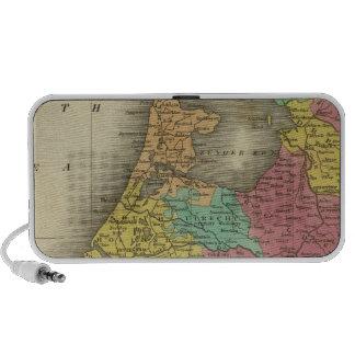 Holanda 2 iPod altavoces
