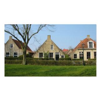 Holanda contiene la tarjeta de la foto tarjetas de visita