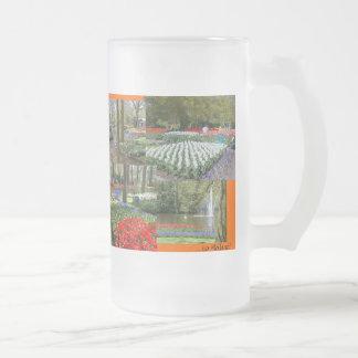 Holanda heló la taza (los jardines de Keukenhof)