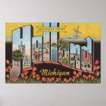Holanda, Michigan - escenas grandes de la letra Impresiones