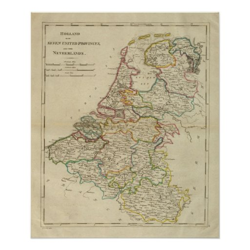 Holanda o las siete provincias unidas posters