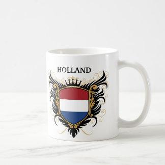 Holanda [personalice] taza básica blanca