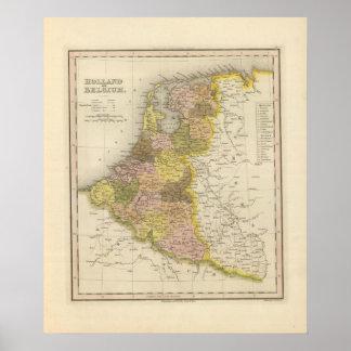 Holanda y Bélgica 2 Póster