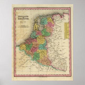 Holanda y Bélgica Póster