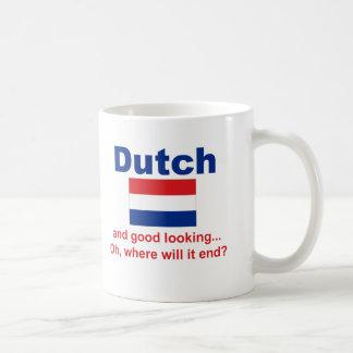 Holandés apuesto taza clásica