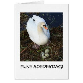 holandés de la tarjeta del día de madre de la jera