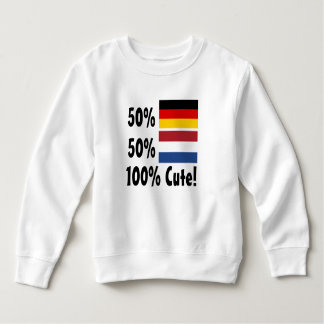 Holandés del alemán el 50% del 50% el 100% lindo remera