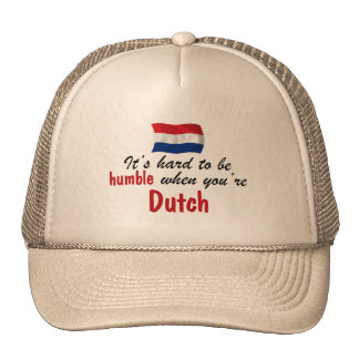 Holandés humilde gorras
