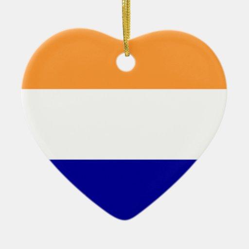 Holandés, Países Bajos Adorno De Cerámica En Forma De Corazón