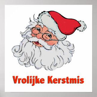 Holandés Papá Noel Posters
