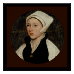 """Holbein Poster 30x30"""""""