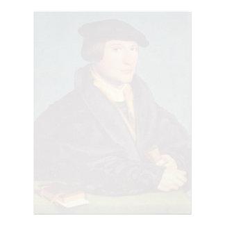 Holbein-Retrato de Hans de un miembro de la famili Membrete