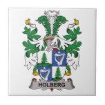 Holberg Family Crest Ceramic Tiles