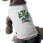 Holberg Family Crest Dog Tee Shirt