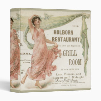 Holborn Restaurant Binder