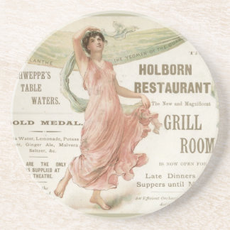 Holborn Restaurant Coaster