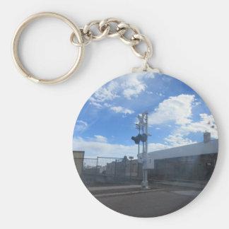 Holbrook Az. Train Station Basic Round Button Keychain