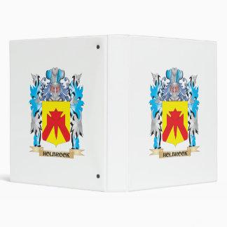 Holbrook Coat of Arms - Family Crest 3 Ring Binder