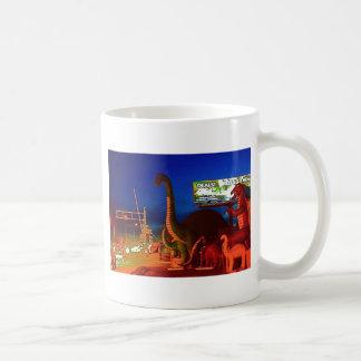 Holbrook Dinosaurio-Rte 66 Tazas