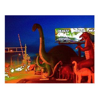 Holbrook Dinosaurs-Rte 66 Post Card
