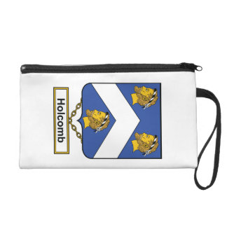 Holcomb Family Crest Wristlets