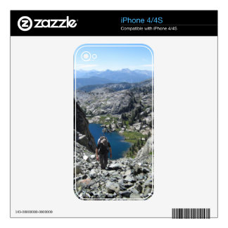 Holcomb Lake - Ansel Adams Wilderness - Minarets Decals For The iPhone 4S