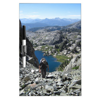 Holcomb Lake - Ansel Adams Wilderness - Minarets Dry Erase Board
