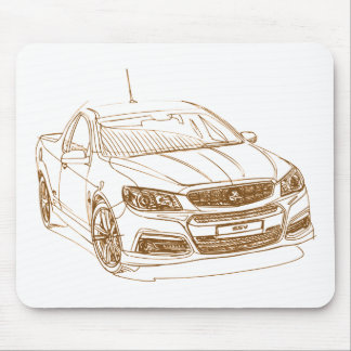 Hold Comm VF Ute 2014 Mouse Pad