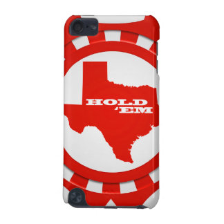 Hold 'Em Poker Chip iPod Touch Case (red)