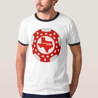 Hold 'Em Poker Chip Shirt (red)