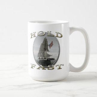 Hold Fast Sailing Ship Mug