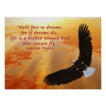 Hold Fast to Dreams Posters