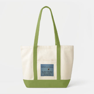 HOLD FAST TO YOUR DREAMS - bag - Customized