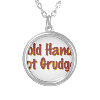 Hold hands not grudges pendant