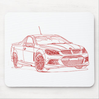 Hold HSV GenF Malo RSV8 2014 Mouse Pad