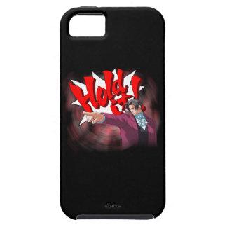 Hold It! Miles Edgeworth iPhone 5 Cases