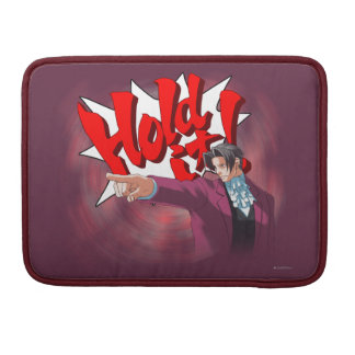 Hold It! Miles Edgeworth Sleeve For MacBook Pro