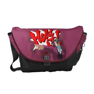 Hold It! Miles Edgeworth Courier Bags