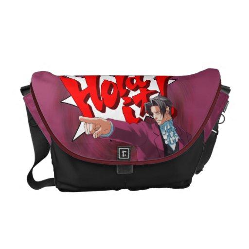 Hold It! Miles Edgeworth Messenger Bags
