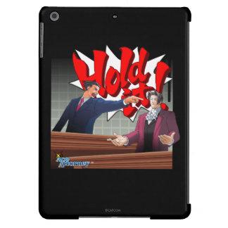 Hold It! Phoenix Wright & Miles Edgeworth iPad Air Cover