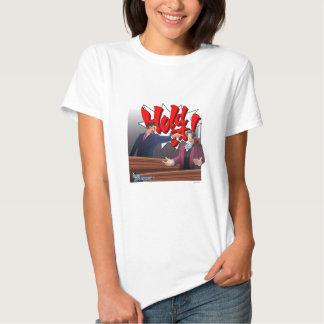 Hold It! Phoenix Wright & Miles Edgeworth T Shirts