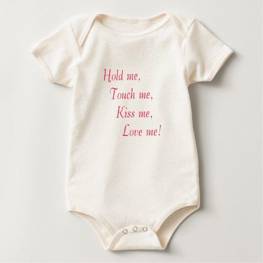 Hold me - onsie baby bodysuit